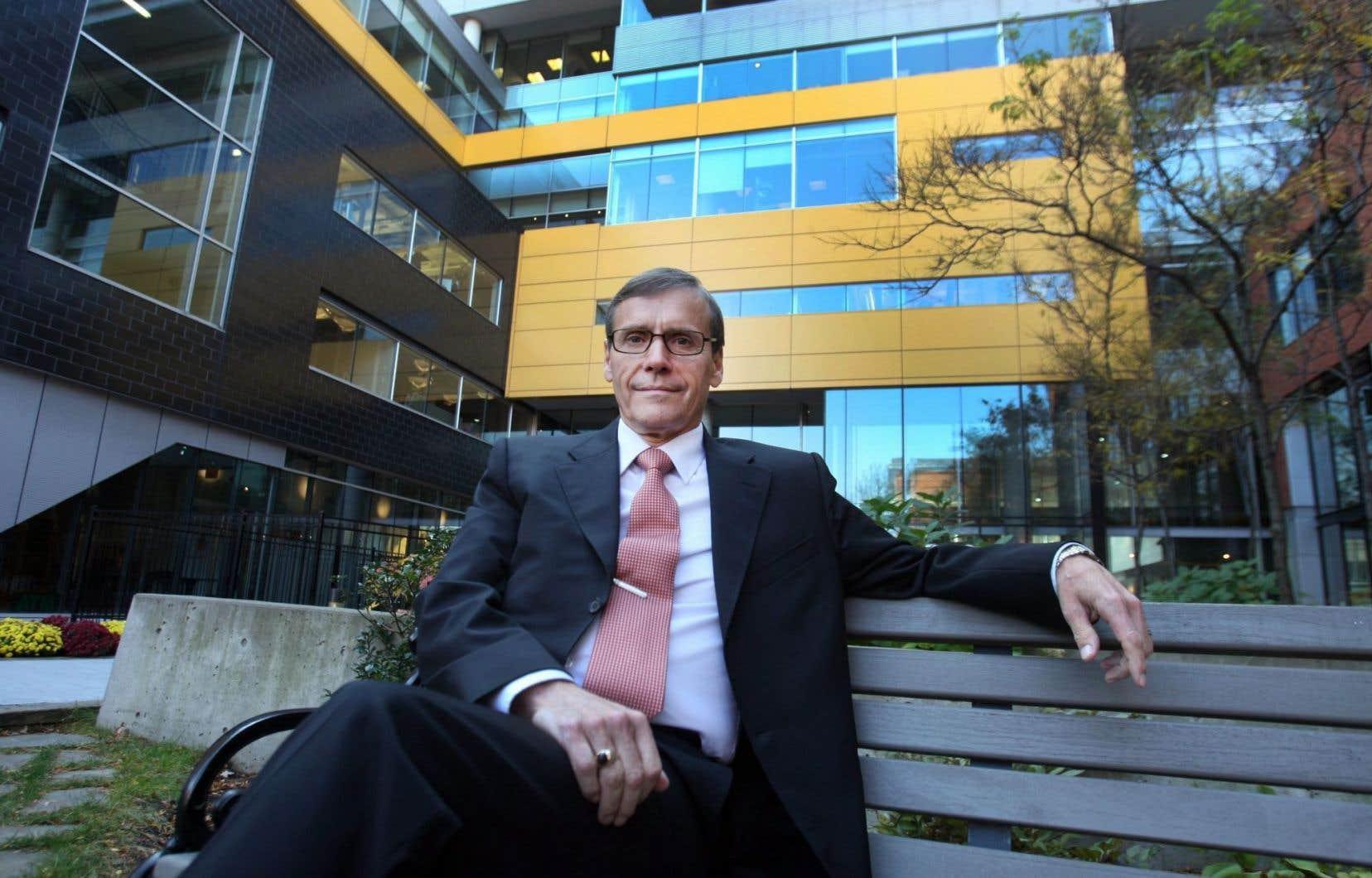 Leprésident et chef de la direction de Résolu, Richard Garneau