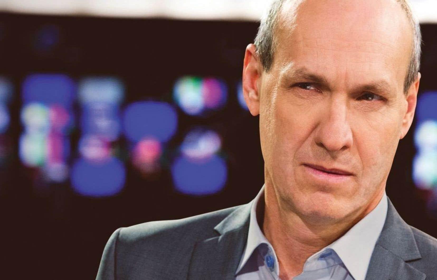 L'ex-animateur de l'émission « Enquête», Alain Gravel