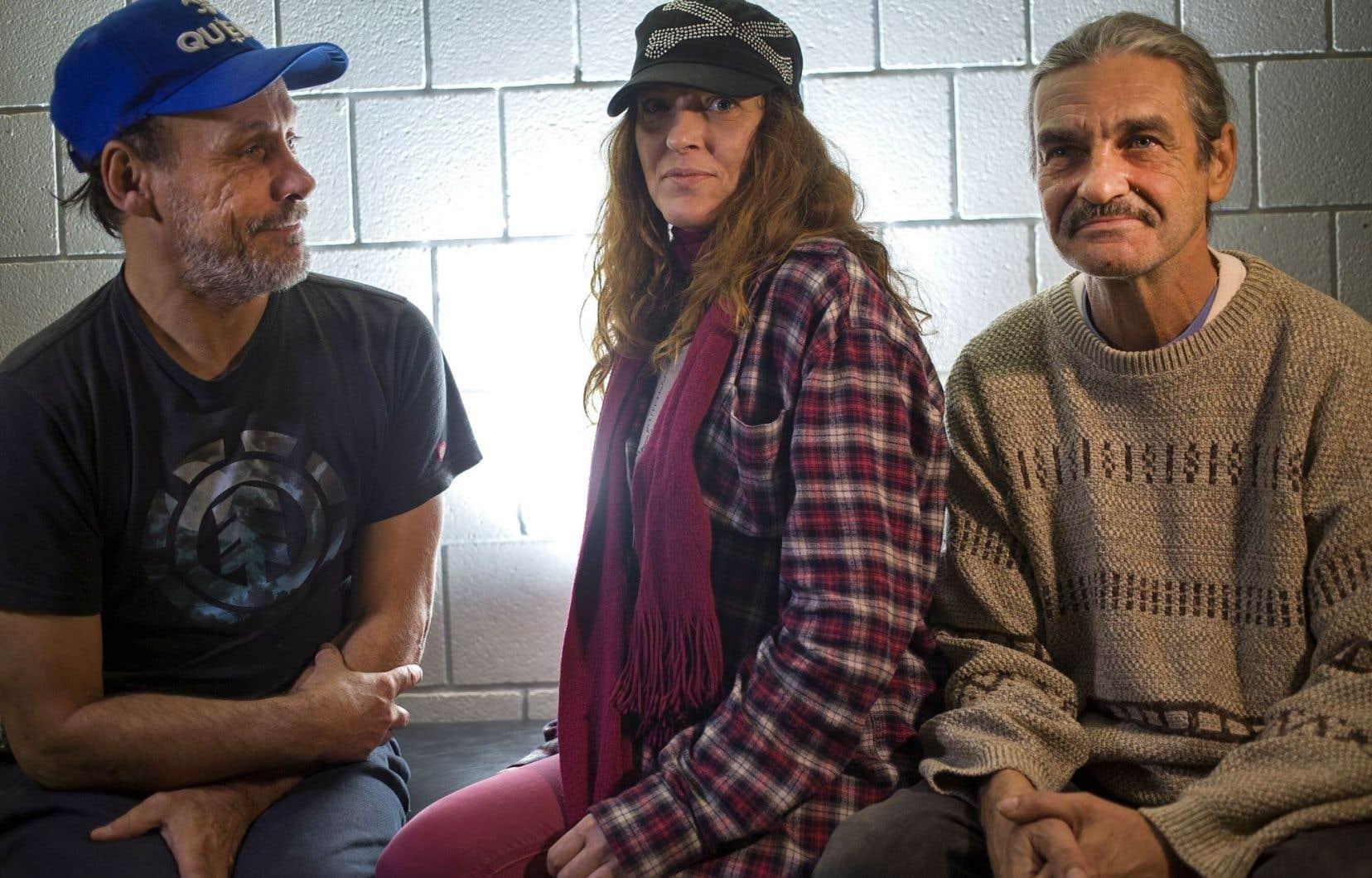 Les histoires de Brian Busby, de Marie-Josée Lejeune et de Michel Arsenault, qui ont vécu dans la rue, seront interprétées par des membres de l'Atelier lyrique de l'Opéra de Montréal, en mai prochain, à la Place des Arts.