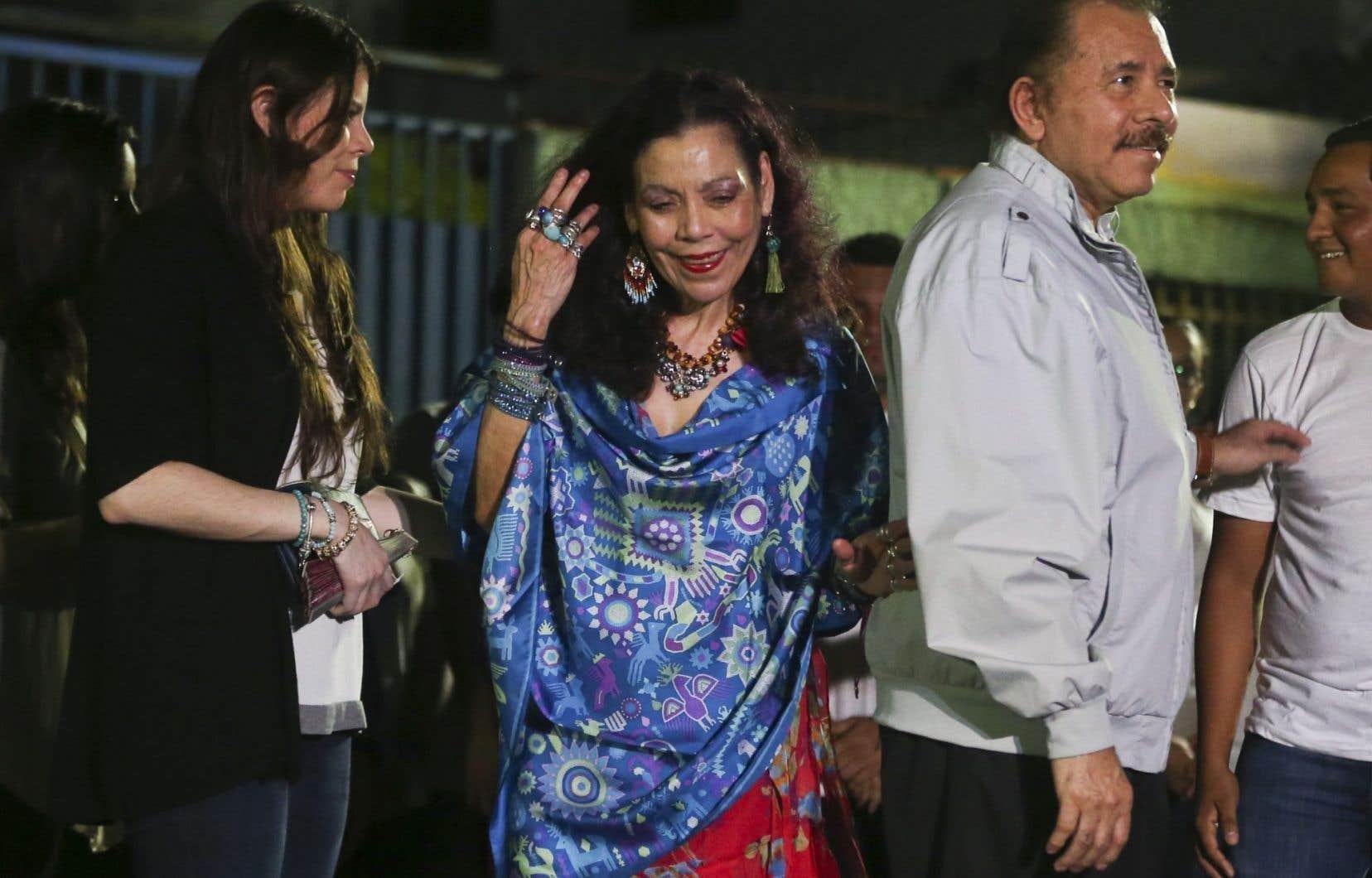 Rosario Murillo et Daniel Ortega forment un tandem présidentiel comparé par leurs détracteurs à Frank et Claire Underwood, le couple impitoyable de la série «House of Cards».