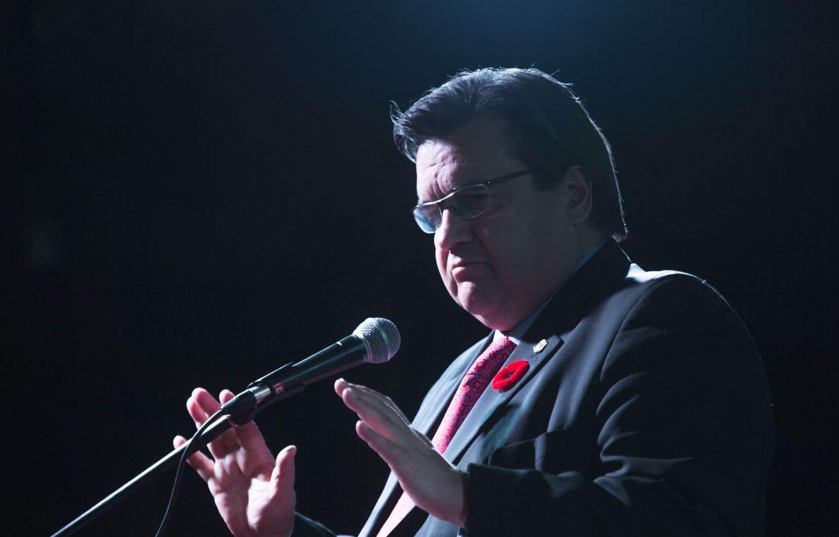 « On ne peut pas commencer une analyse de la situation sans avoir les faits »a lancé le maire de Montréal, Denis Coderre.