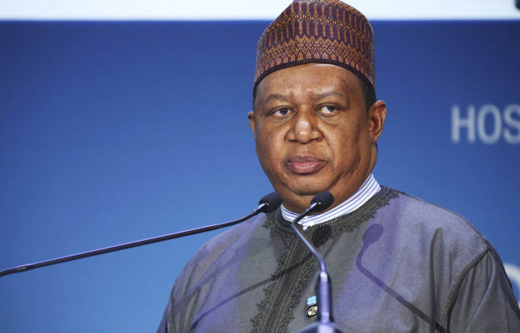 Le secrétaire général de l'OPEP,Mohamed Barkindo