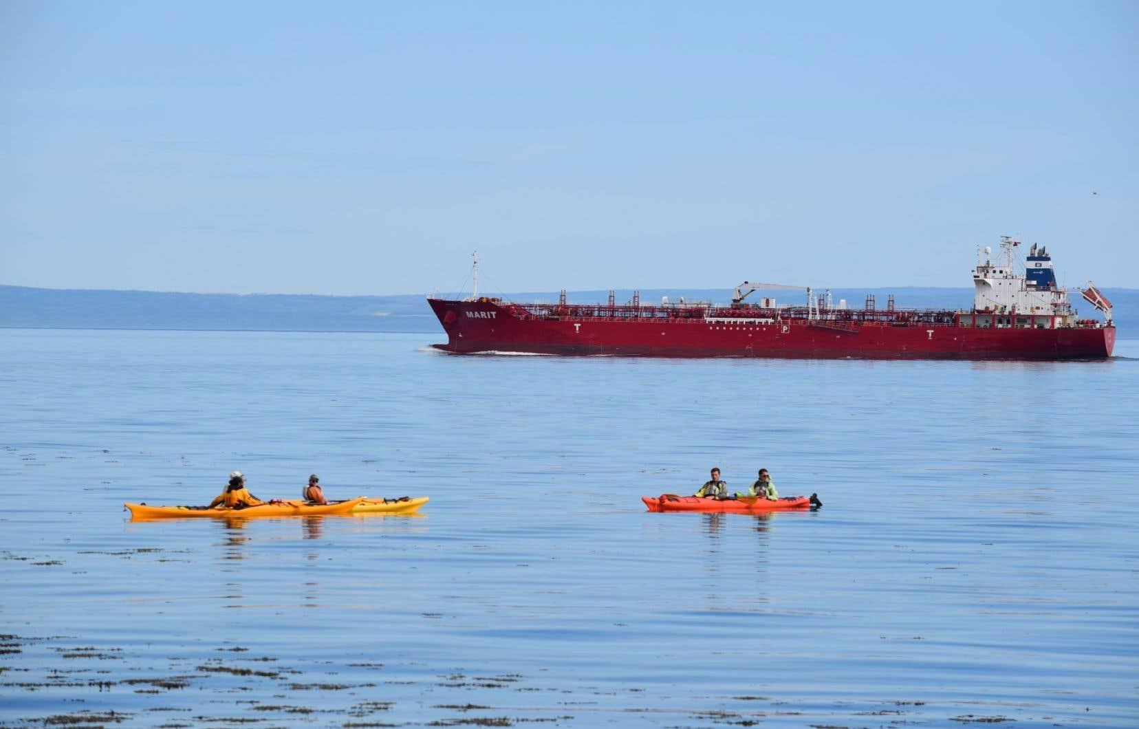 Ottawa financera des mesures de protection dans un contexte de croissance du transport maritime de matières dangereuses, dont le pétrole.