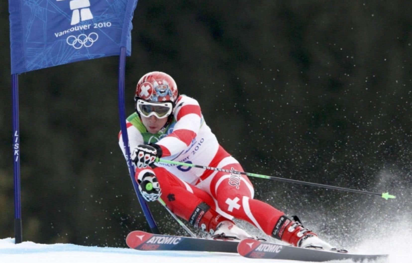 Le Suisse Carlo Janka