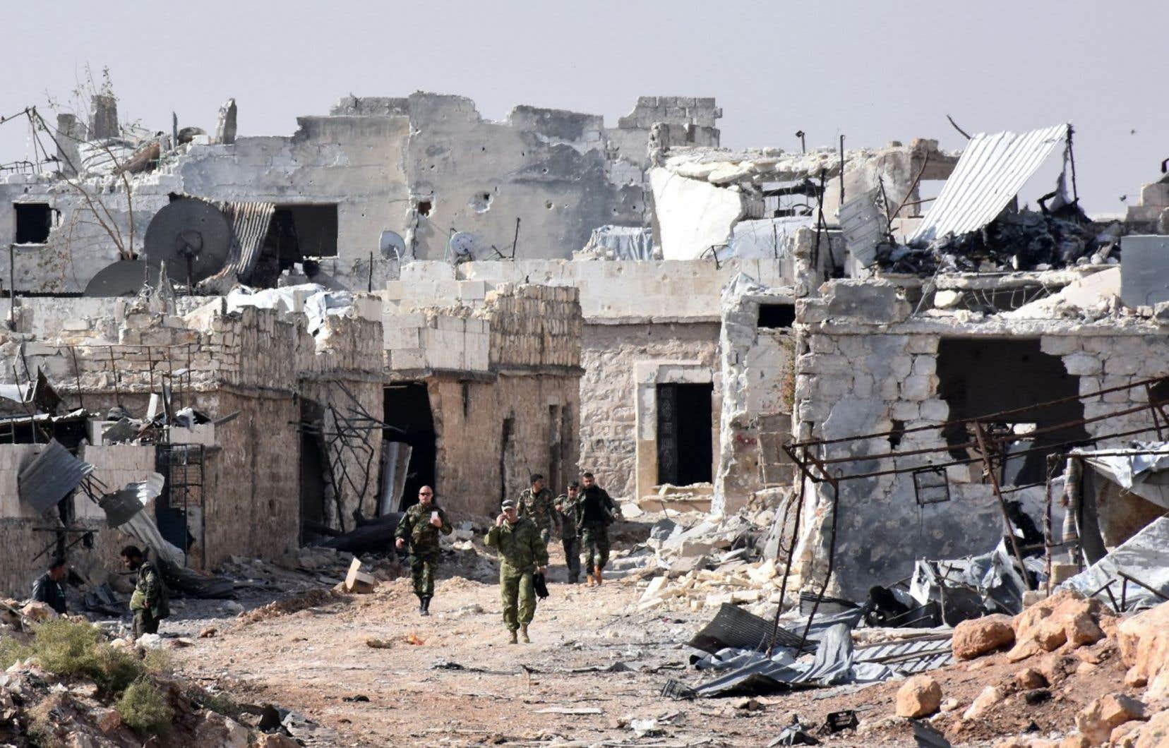 Les rebelles ont tenté plusieurs fois de briser le siège mais aucune aide n'est parvenue dans les quartiers-Est depuis juillet.
