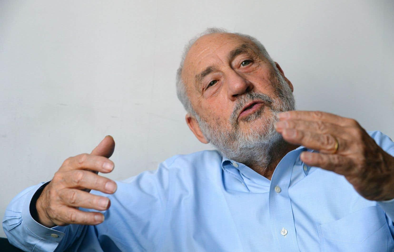 Joseph Stiglitz en septembre 2016 à Paris