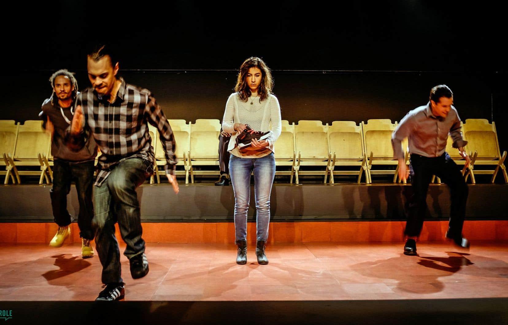 Une scène de la pièce «Fredy», d'Annabel Soutar
