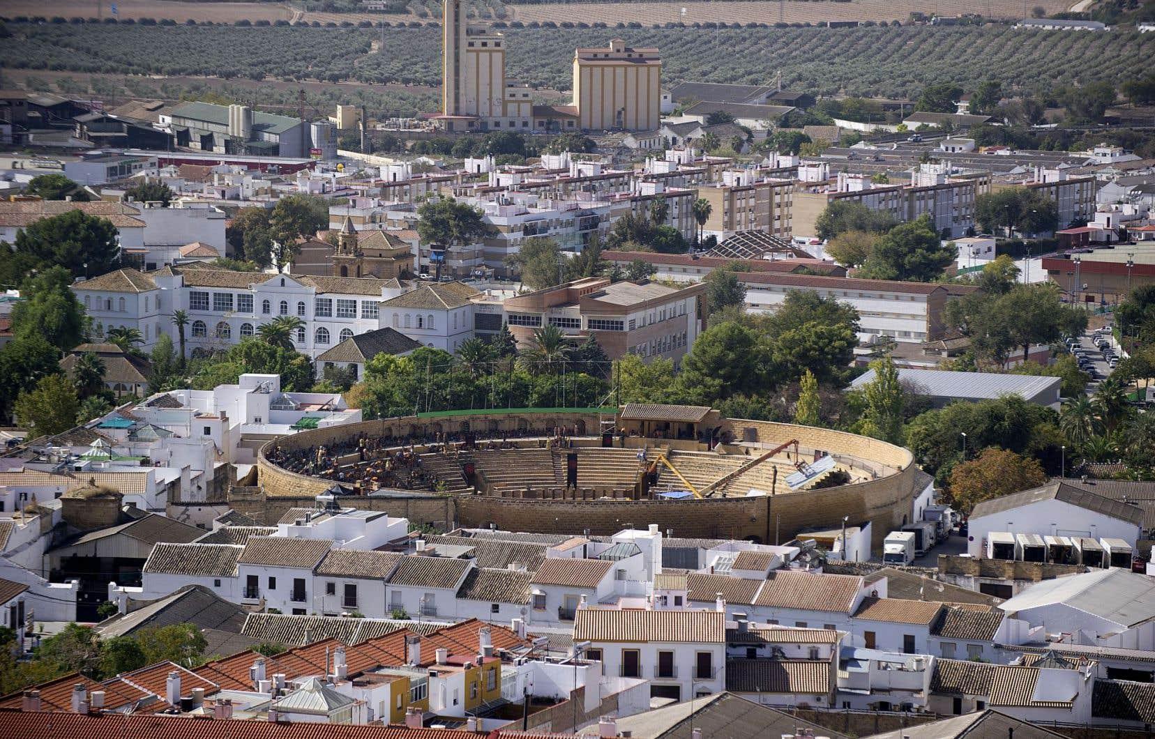 Les arènes d'Osuna, à 87 kilomètres de Séville, lieu de tournage d'un épisode clef de la cinquième saison de «Game of Thrones».