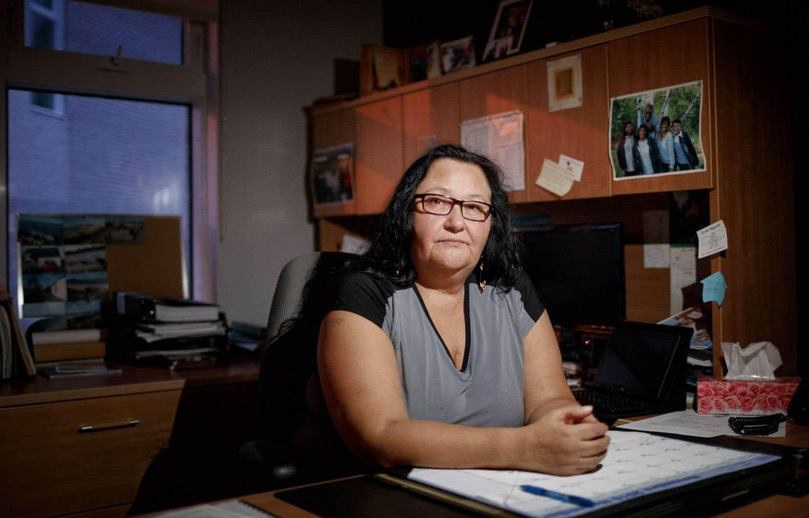 Françoise Ruperthouse, du conseil de bande de Pikogan, au nord de Val-d'Or, est inquiète. Des femmes qui avaient dénoncé les agressions avaient espoir d'obtenir justice.<br />