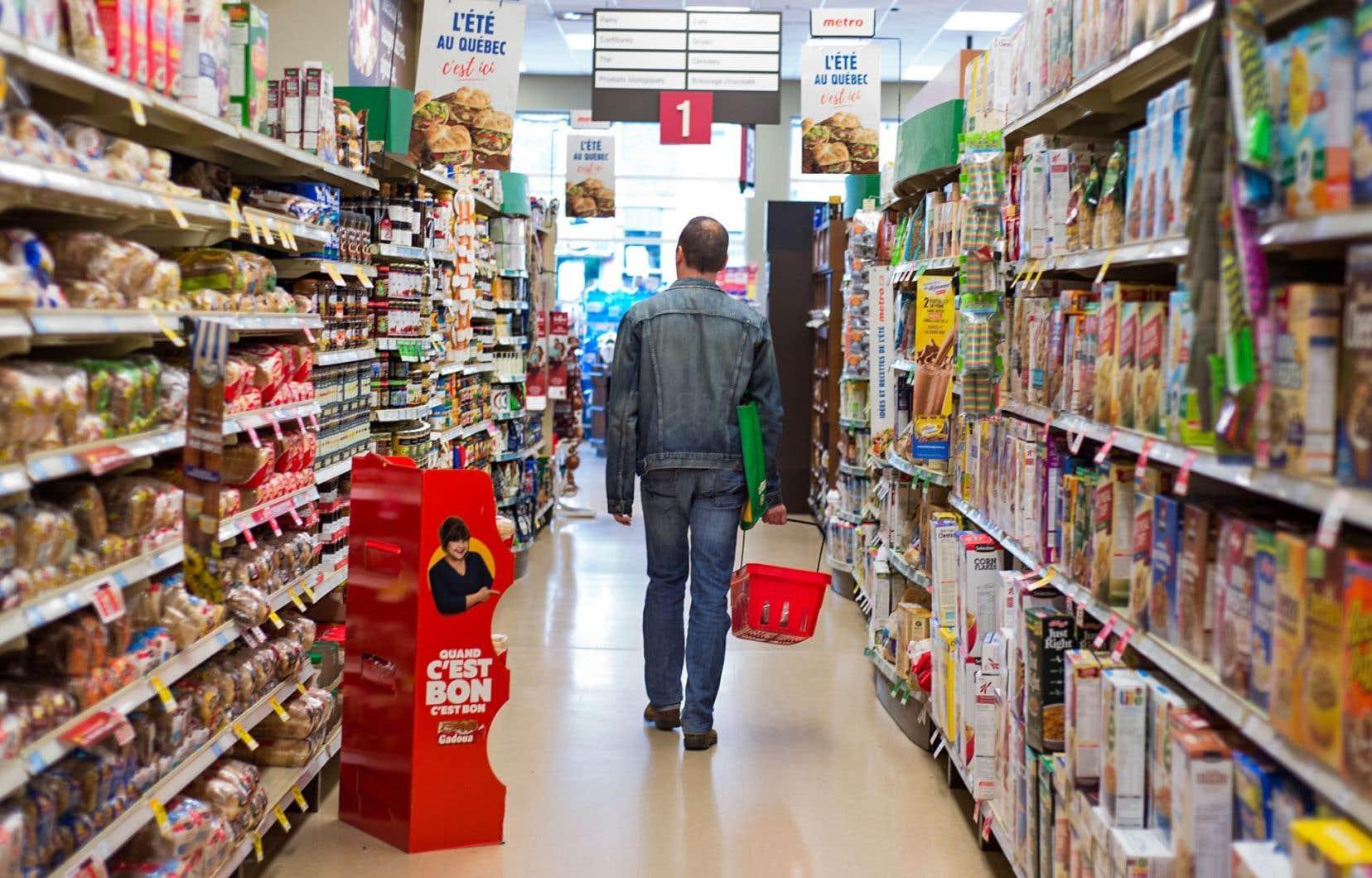L'augmentation du prix des aliments aidant, les consommateurs se tournent de plus en plus vers les supermarchés à escompte.