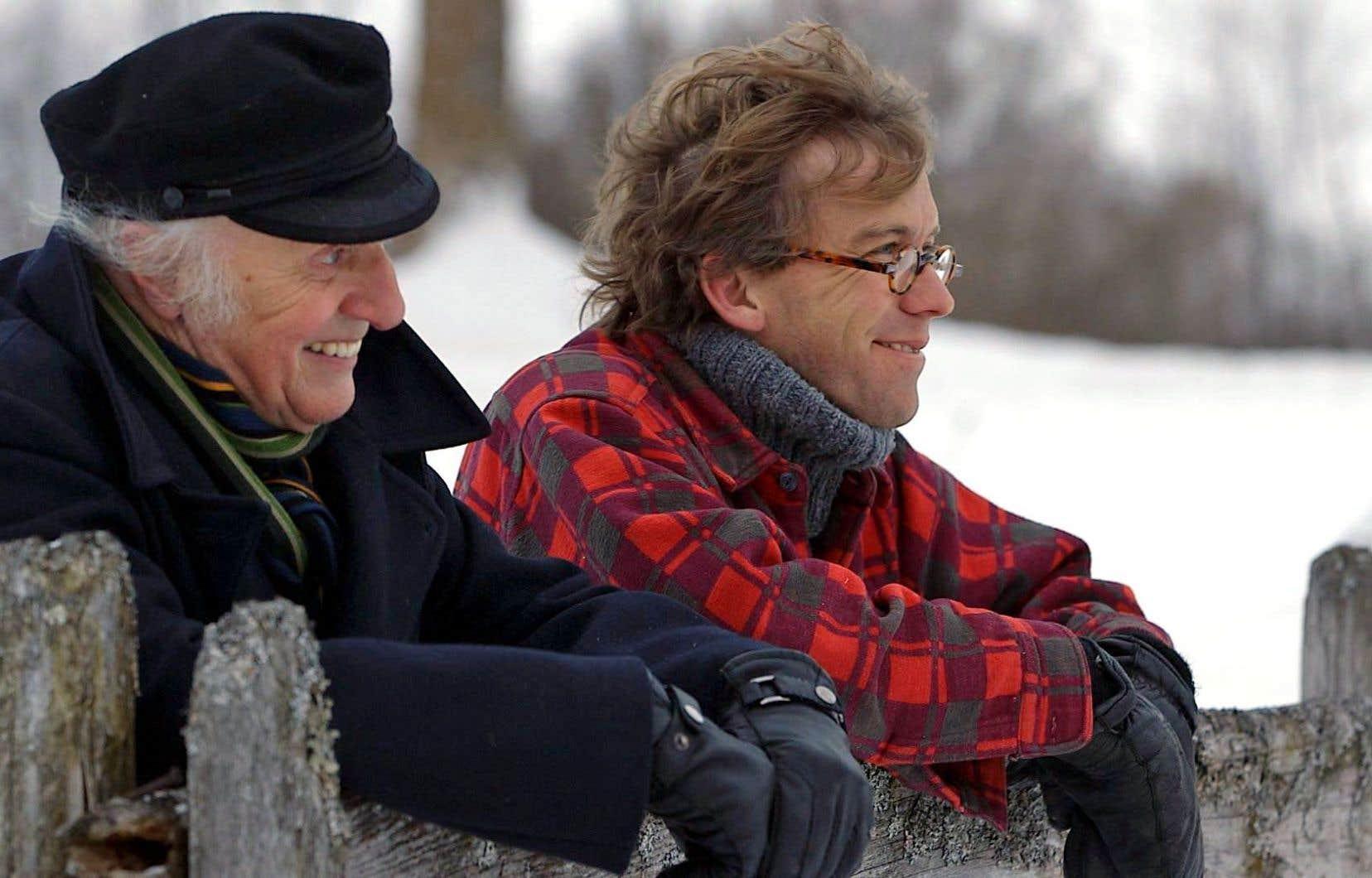 Gilles Vigneault et Fred Pellerin sont au centre du documentaire allégorique de Francis Legault.