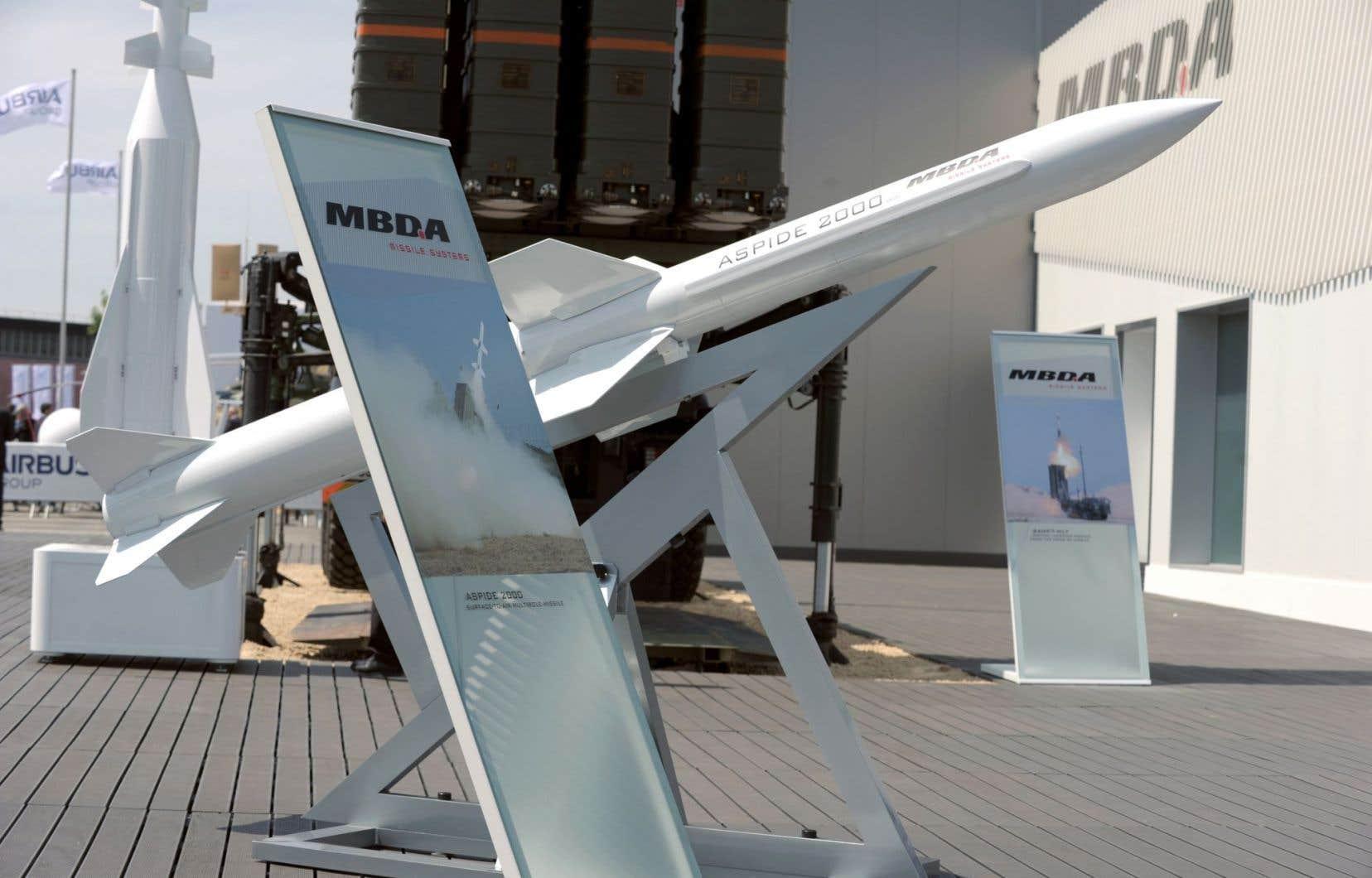 La France et le Royaume-Uni ont mutualisé les centres de recherches du fabricant de missiles MBDA.