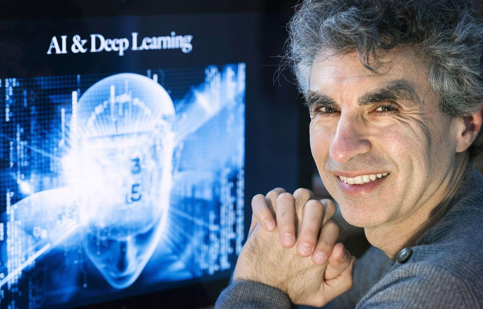 Montréal se distingue dans le domaine de l'intelligence artificielle grâce au travail de pionniers comme le professeur Yoshua Bengio, de l'Université de Montréal.