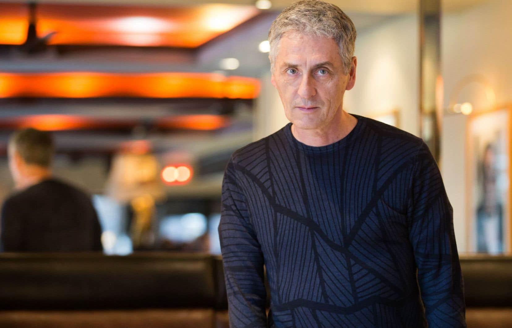 L'auteur québécois Larry Tremblay est nommé pour «L'orangeraie».