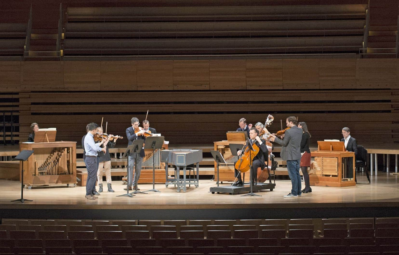 Andrew Wan et Cho-Lian Lin ont interprété, avec quelques musiciens, le plus fameux des concertos pour deux violons de Vivaldi: sonorité moelleuse et entame de concert rassurante.