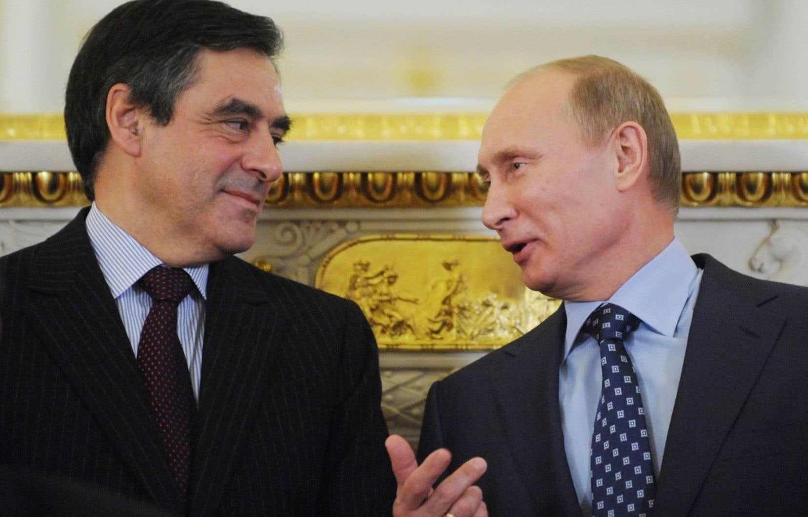 François Fillon et Vladimir Poutine s'étaient déjà rencontrés en novembre 2011, alors qu'ils occupaient tous deux le poste de premier ministre de leur gouvernement respectif.