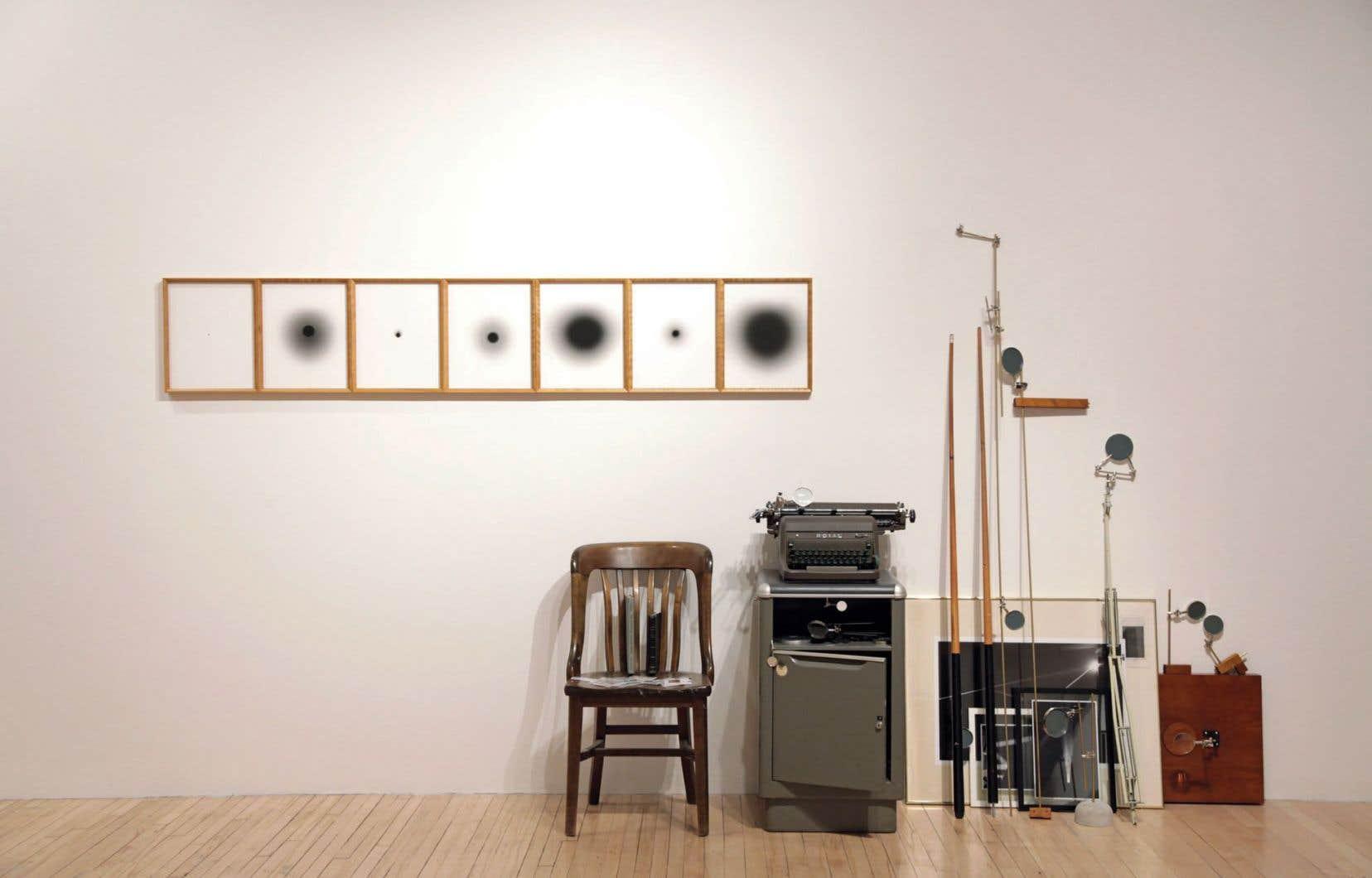 Vue de l'œuvre «Aphélie» dans l'exposition «Les glaciers» de Patrick Bernatchez