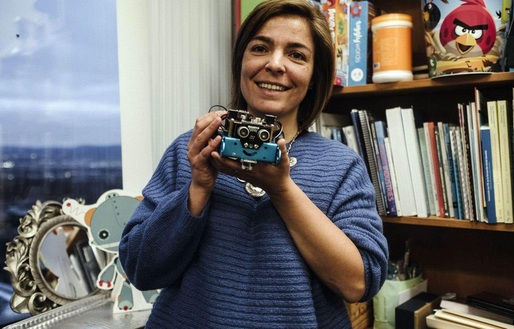 Margarida Romero souhaite favoriser l'innovation à l'école.