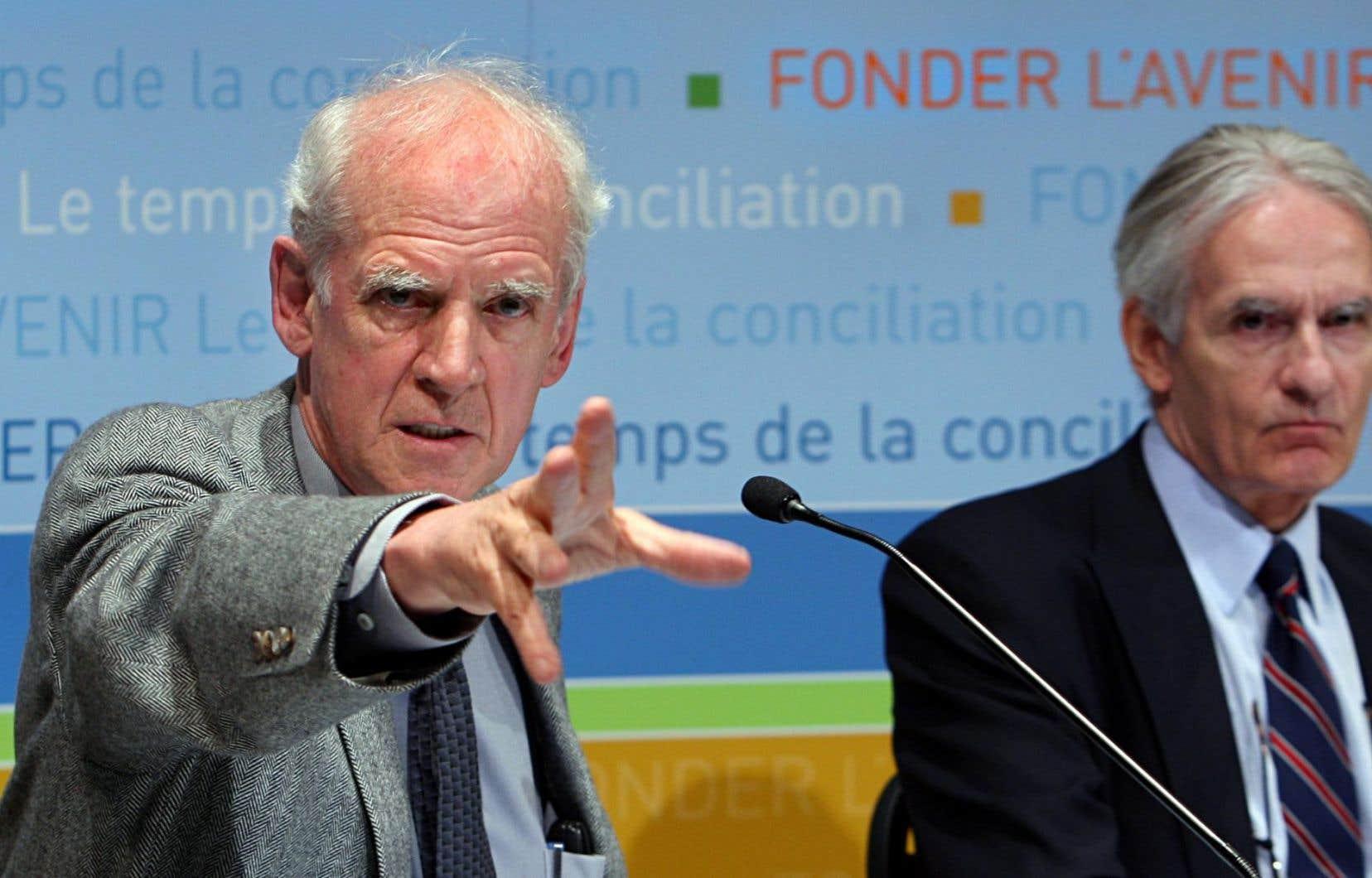 «Les travaux de la commission Bouchard-Taylor [...] auraient mésinterprété l'expérience historique particulière de la majorité franco-québécoise au profit d'une naturalisation de la diversité sociale», rappelle David Koussens.