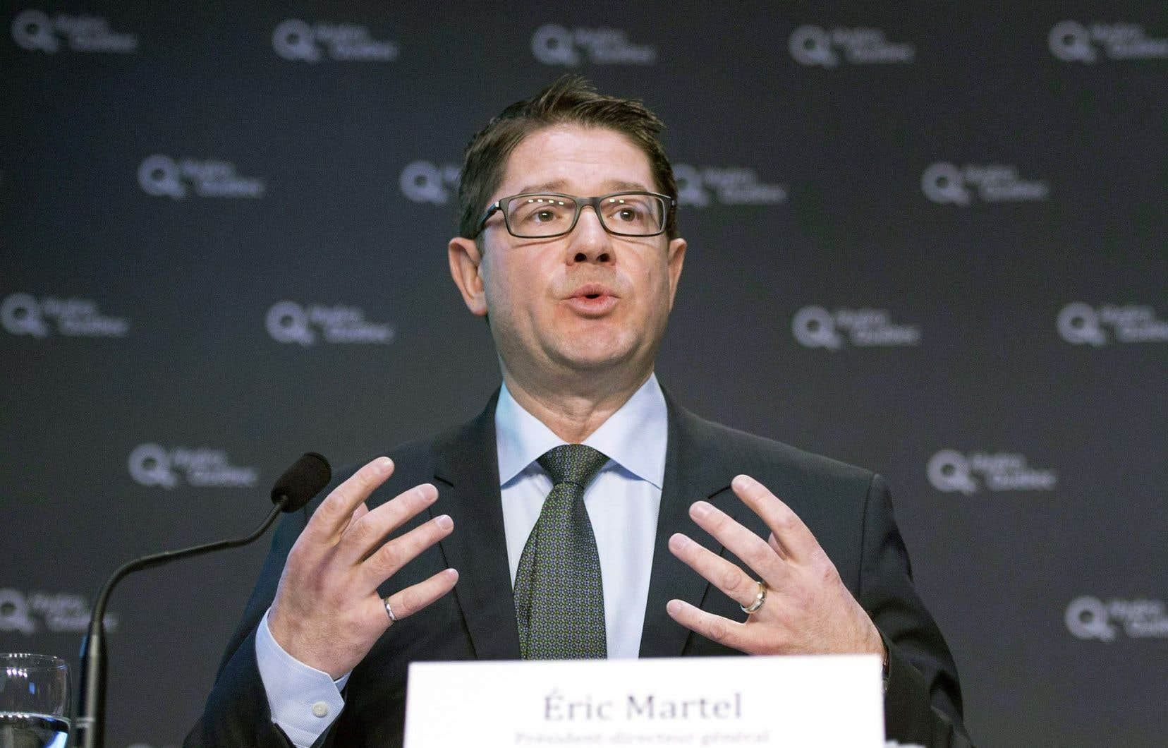Éric Martel, le président d'Hydro-Québec