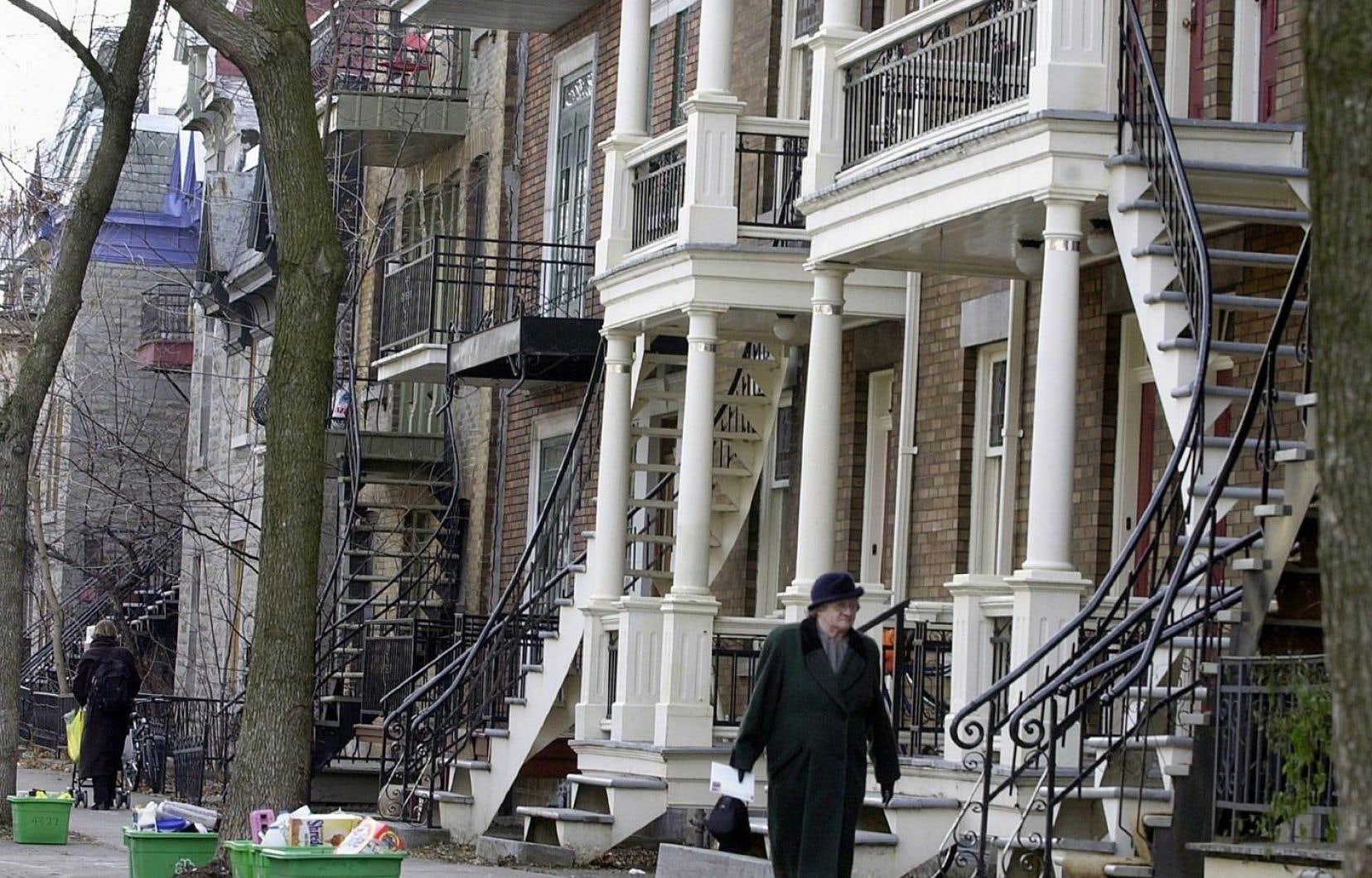 Au Québec, le loyer moyen s'établissait à 751$ pour un appartement de deux chambres.