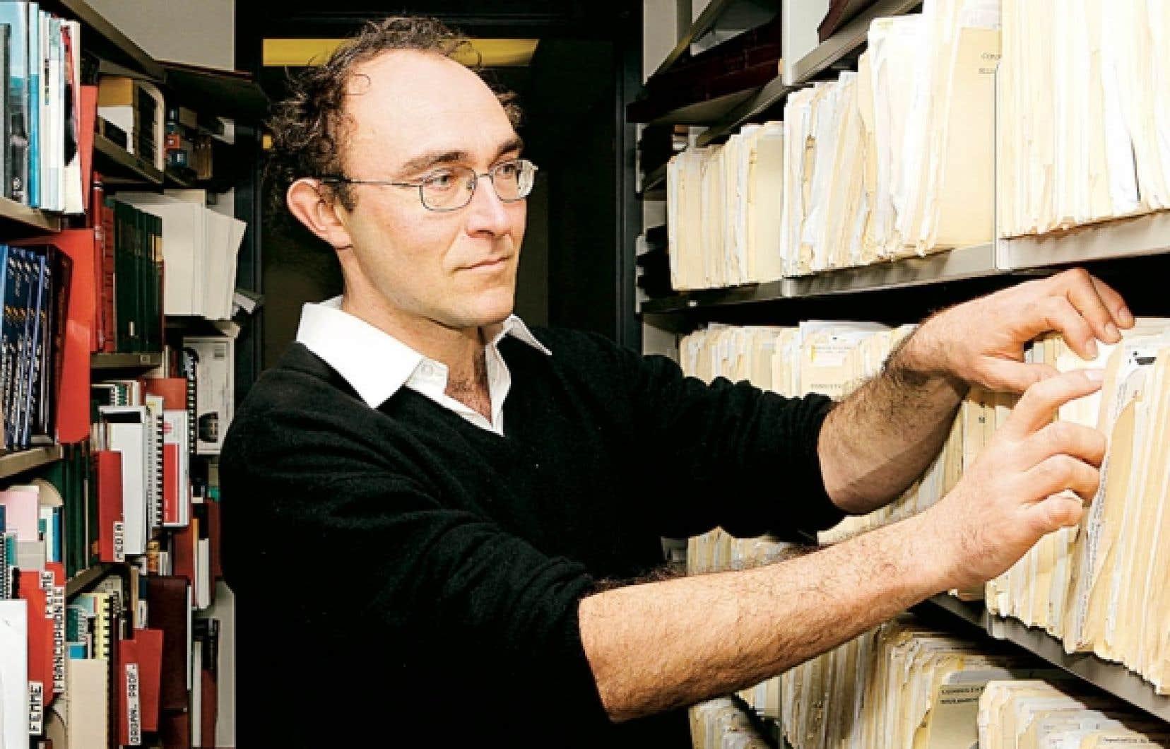 Le journaliste français Nicolas Chevassus-au-Louis