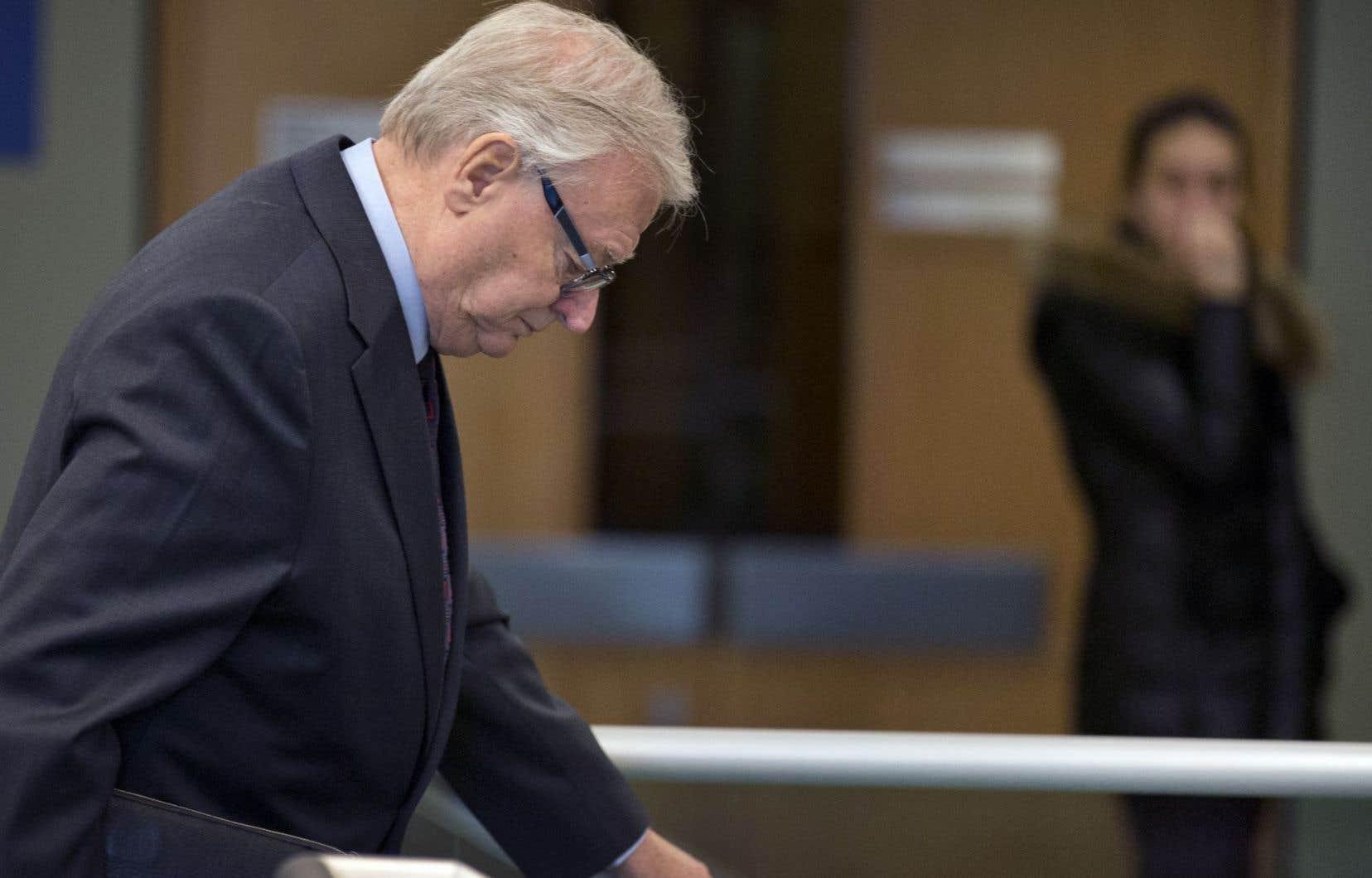 L'ex-maire de Laval, Gilles Vaillancourt