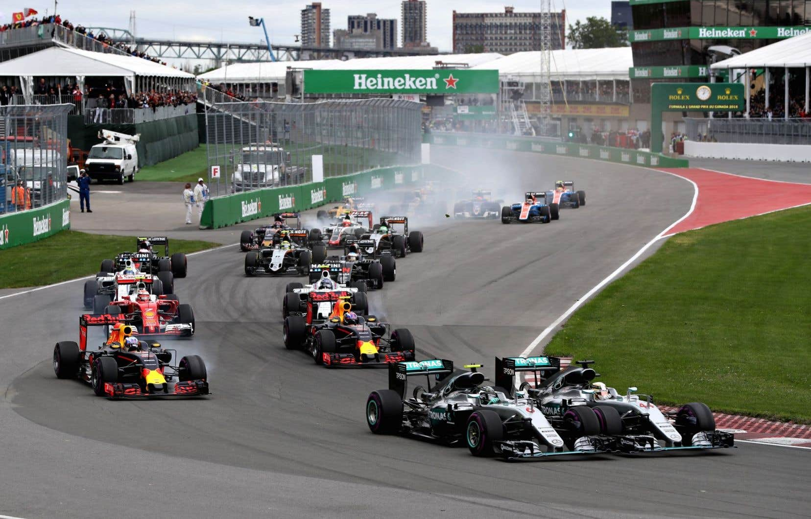 Le calendrier, approuvé lors d'une réunion à Vienne, prévoit l'exclusion du Grand Prix d'Allemagne.