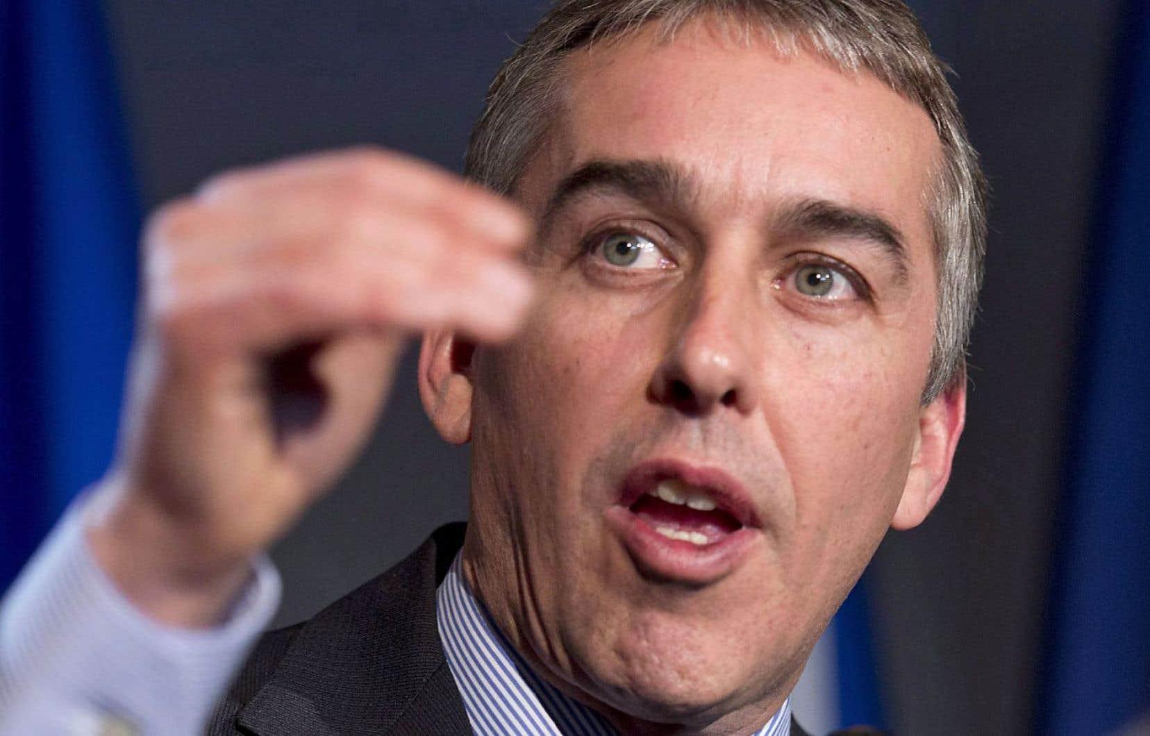 Nicolas Marceau, député de Rousseau à l'Assemblée nationale
