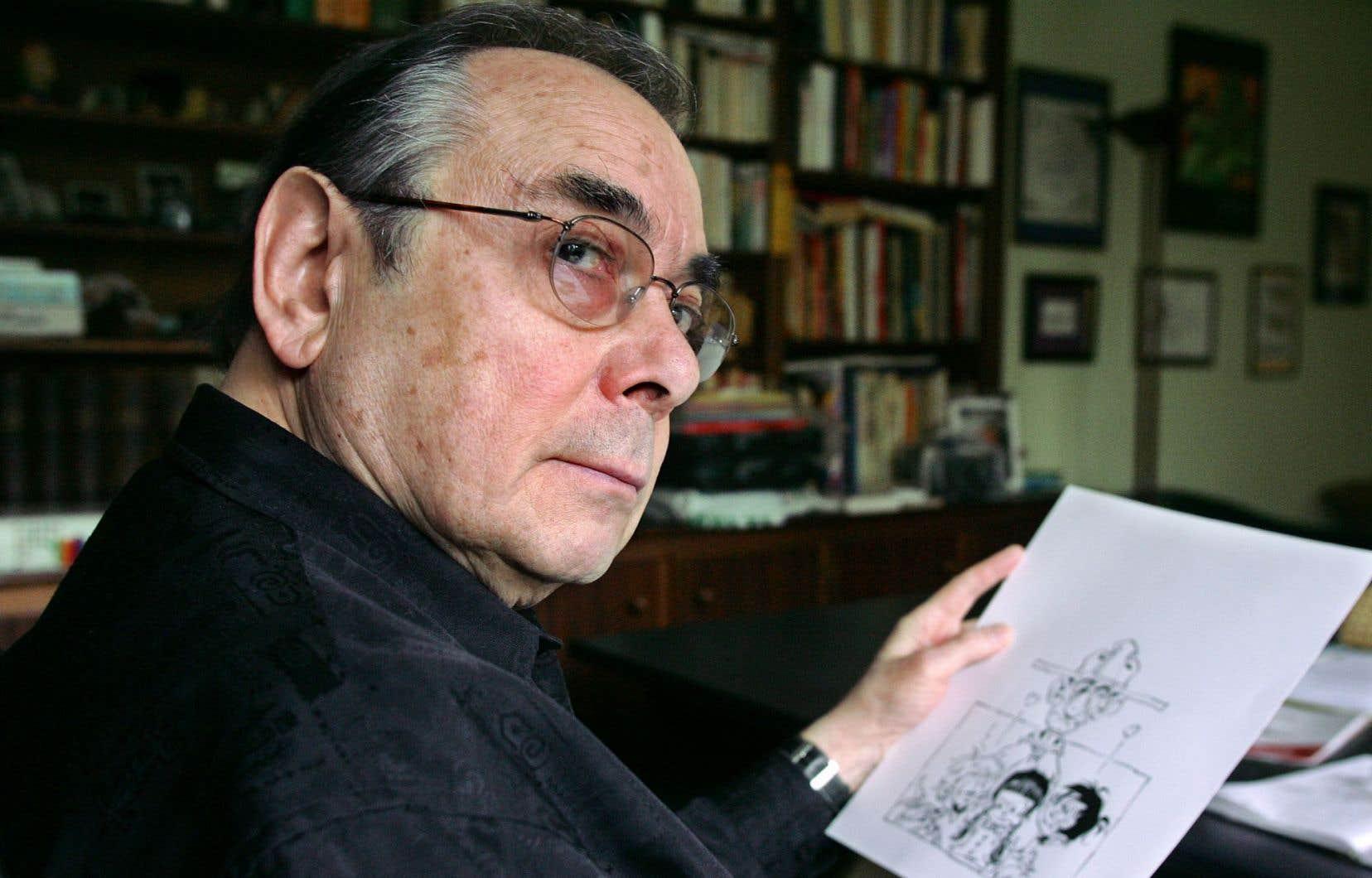 Le bédéiste français Marcel Gottlieb, dit Gotlib, cultivait un humour noir, caustique et absurde.