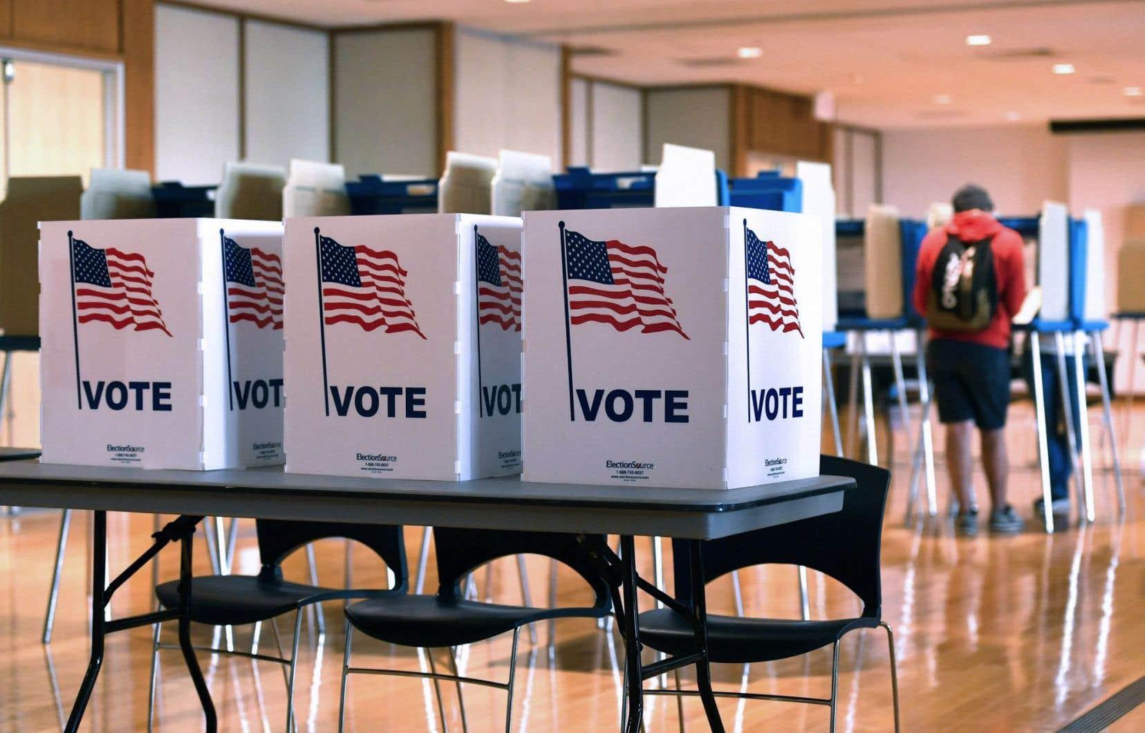 L'avance de Donald Trump sur la candidate démocrate Hillary Clinton est de plus de 67 000 en Pennsylvanie.