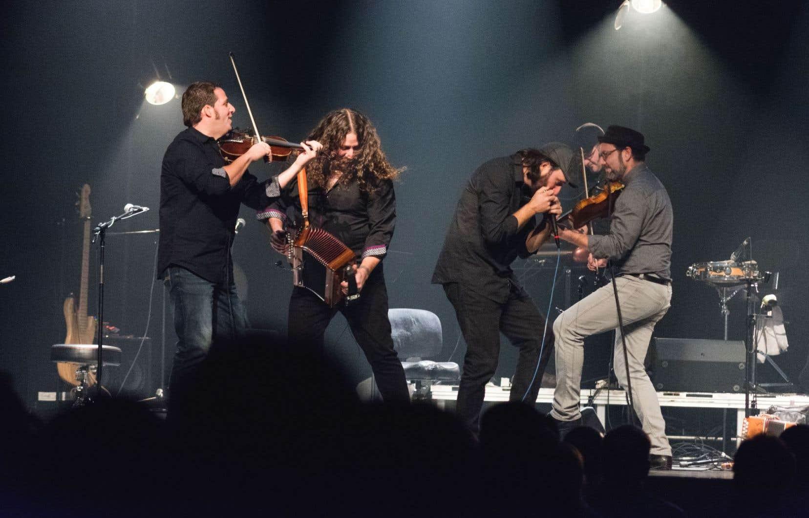 Les sept musiciens de Solo aimeraient peut-être créer une nouvelle tradition.