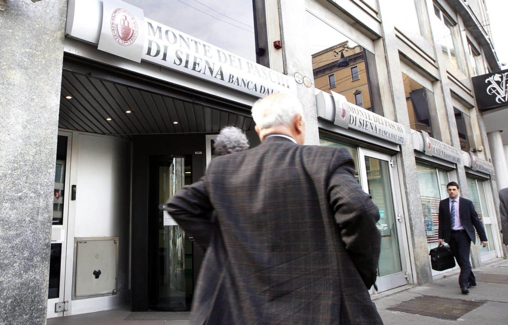Le dossier explosif de la banque Monte Dei Paschi di Siena revient au premier plan à la suite de la victoire du non.