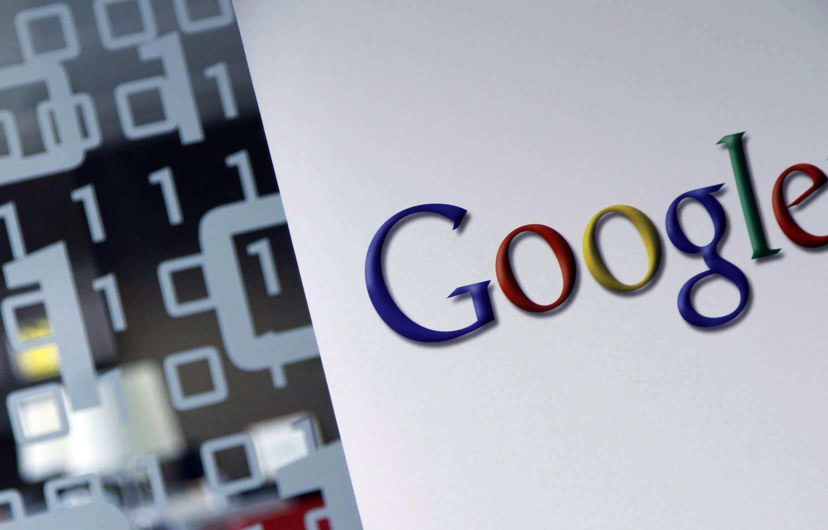 L'avocat de Google soutientqu'il y a une différence nette entre le retrait volontaire par Google de certains éléments et la contrainte par une décision des tribunaux.