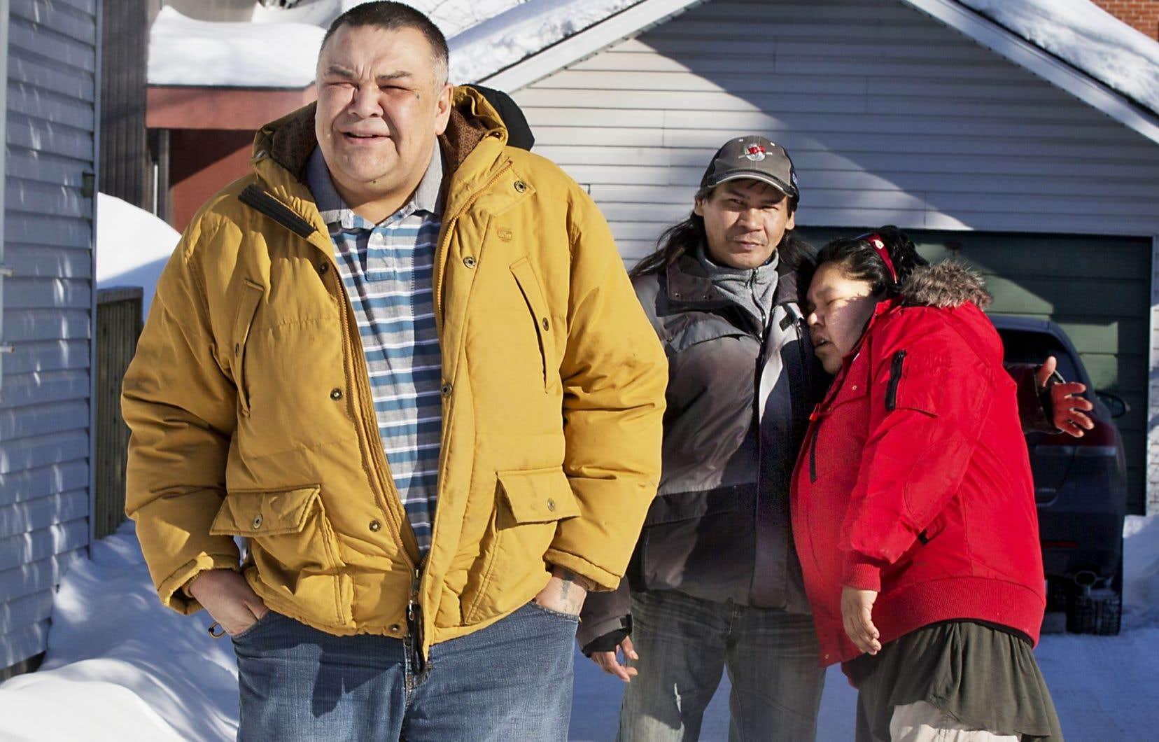 Lors de notre passage à Val-d'Or, en février 2016, nous avions rencontré, Christopher Stephen, un ancien itinérant qui était alors intervenant à la ressource d'hébergement Chez Willie.