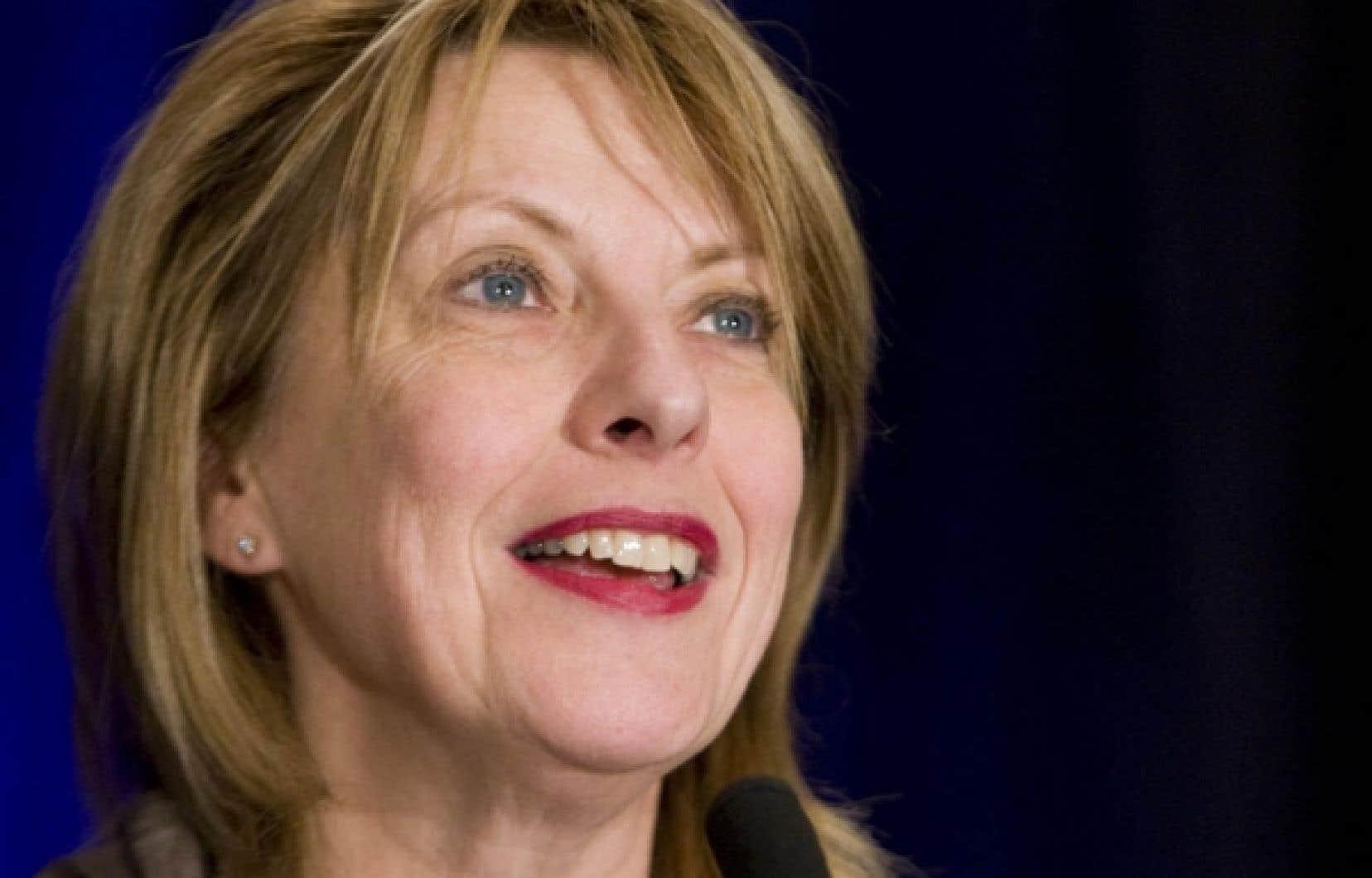 Christine St-Pierre, ministre de la Culture, des Communications et de la Condition féminine