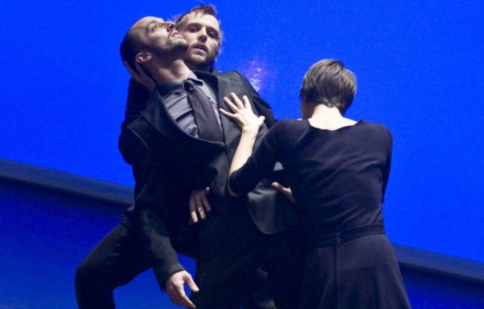 Trois des quatre danseurs de Nu, d'Harold Rhéaume