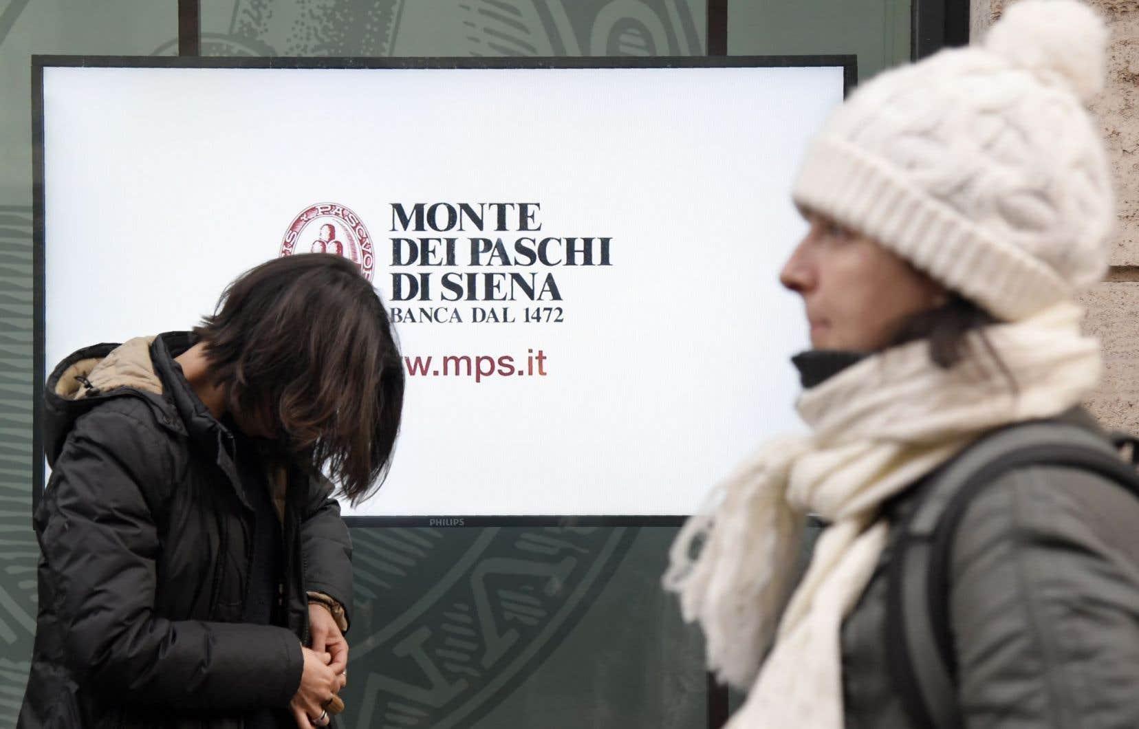La Monte, symbole de la crise bancaire en Italie, a affiché les pires résultats aux tests de résistance publiés fin juillet par l'Autorité bancaire européenne.