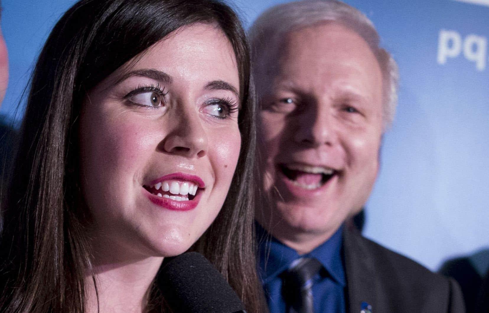 «[Le Parti québécois] est un parti qui fait confiance aux jeunes et qui les écoute», écrit Catherine Fournier.