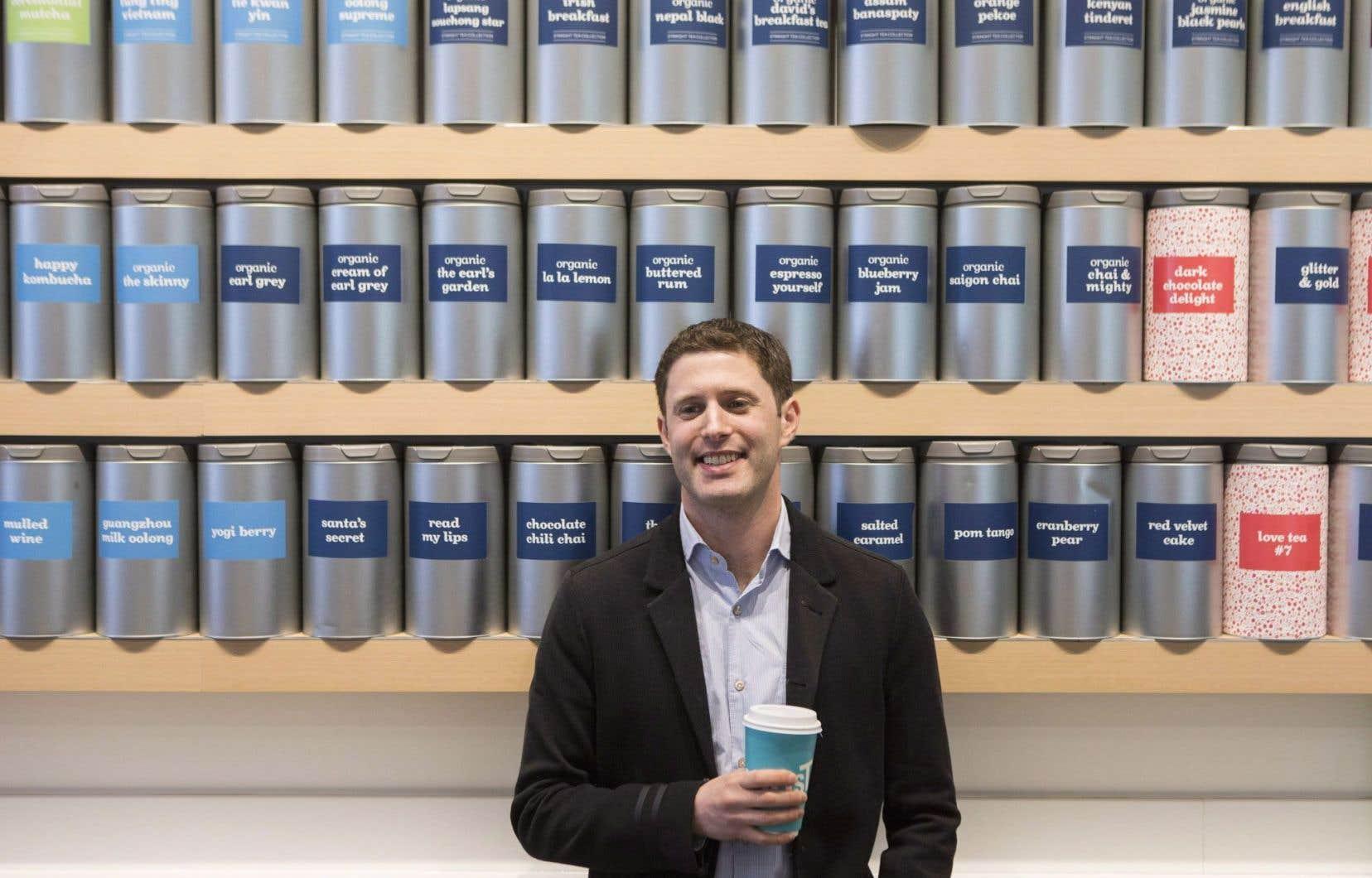 Le cofondateur du marchand de thés, David Segal, a quitté l'entreprise en mars 2016.