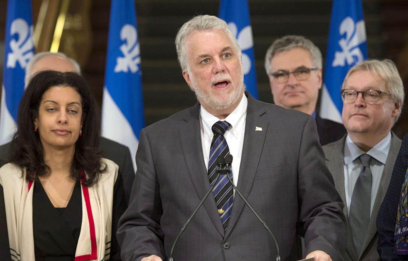 Philippe Couillard: «Je veux que le Québec soit prospère et encore plus juste.»