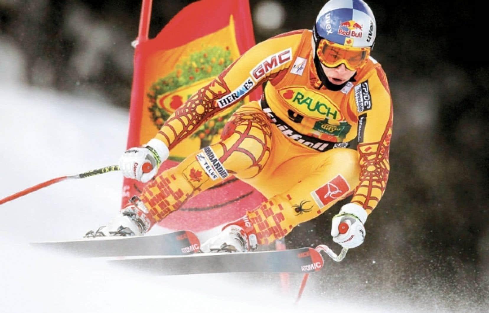 Le Québécois Erik Guay a dévalé la piste en une minute 47,88 secondes.