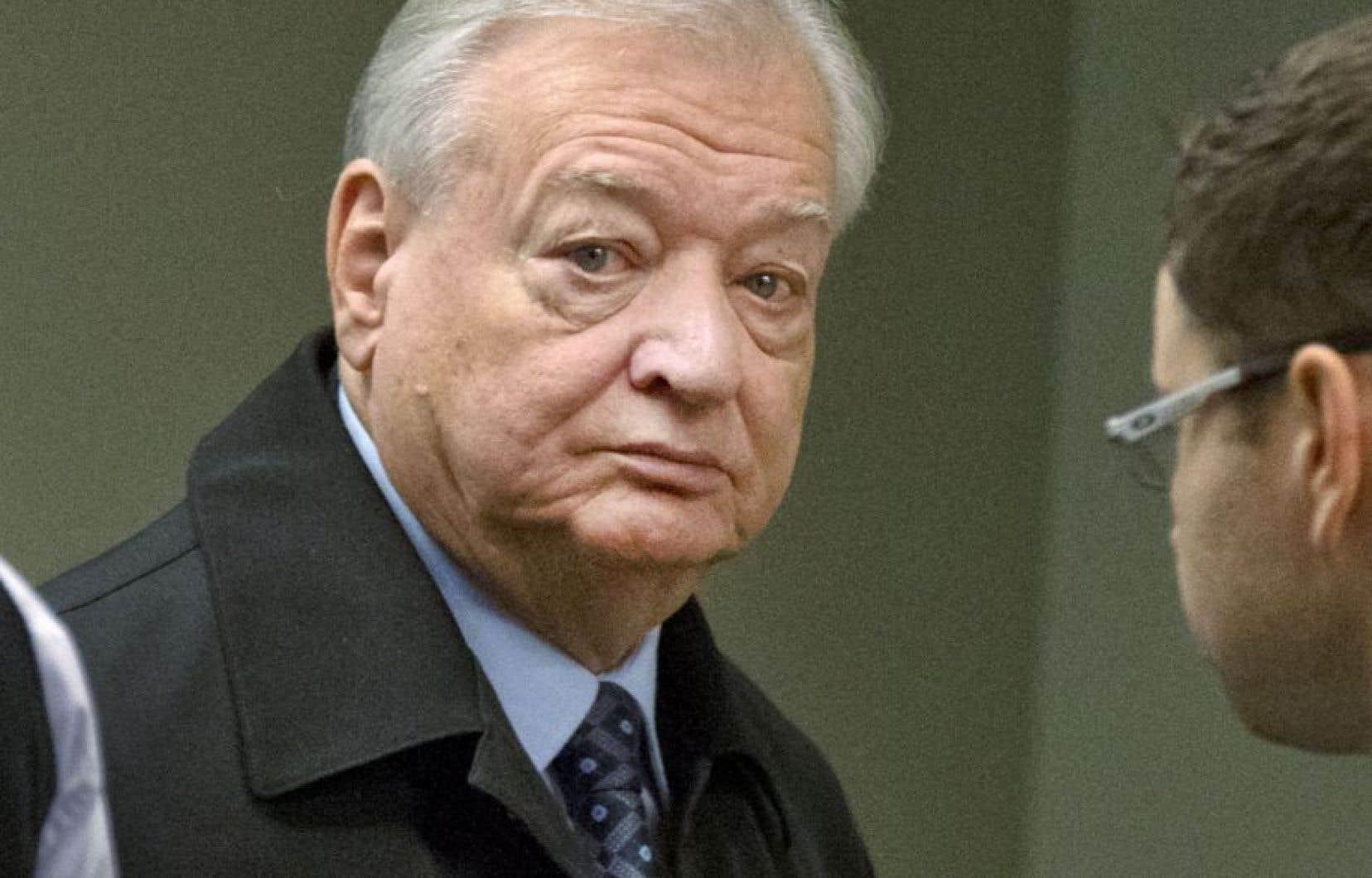 L'ex-maire de Laval Gilles Vaillancourt