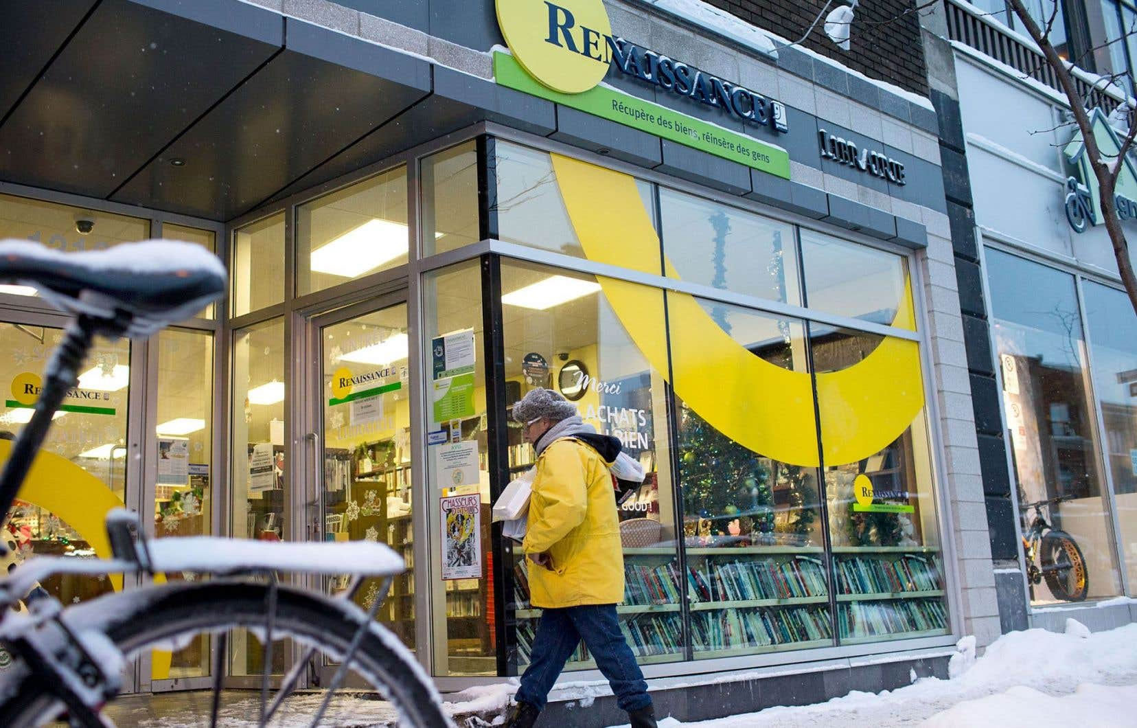 Sur les huit librairies ouvertes ces dernières années par Renaissance, seule celle de l'avenue du Mont-Royal serait rentable, confie le directeur et fondateur, Pierre Legault.