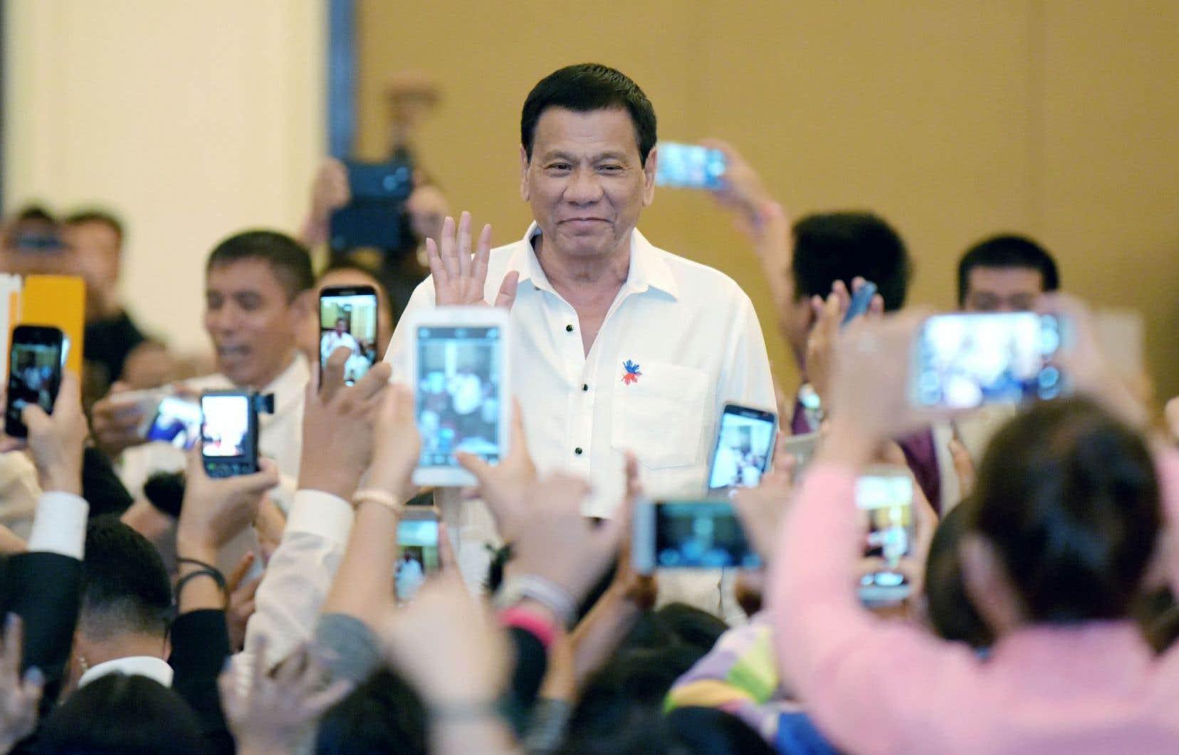 Le président philippin, Rodrigo Duterte