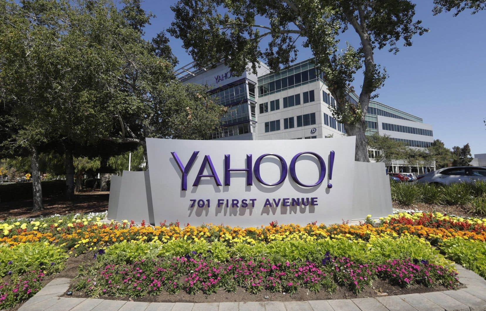 Le siège social de Yahoo à Sunnyvale, en Californie