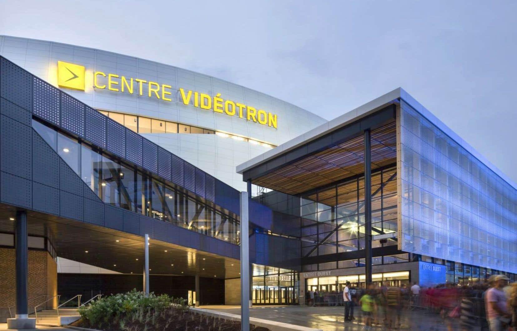 L'avis d'imposition remis au Centre Vidéotron par la Ville de Québec n'est que de 365000$.