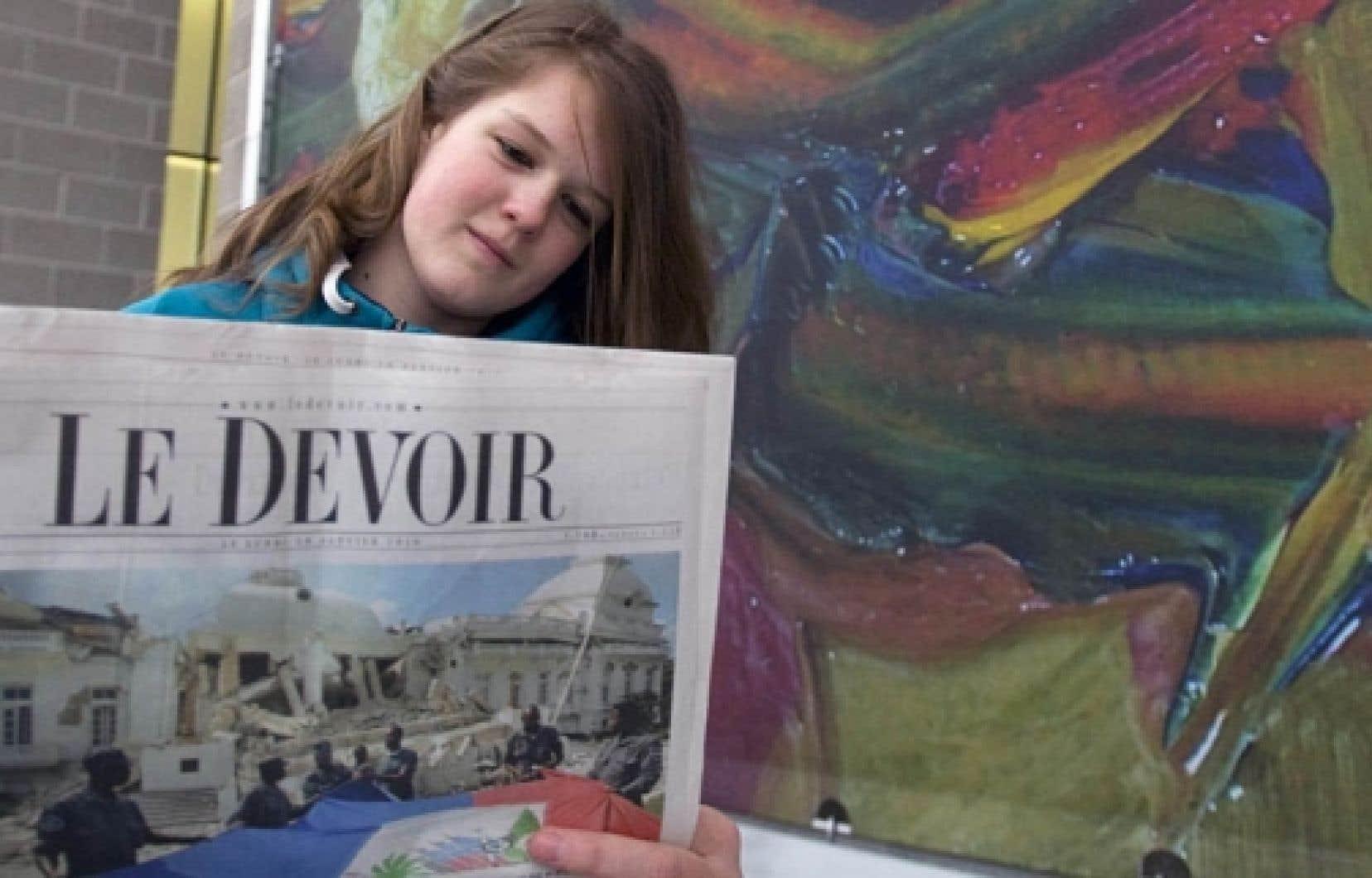 Le Devoir est bien une entreprise indépendante, contrairement à La Presse et au Journal de Montréal.