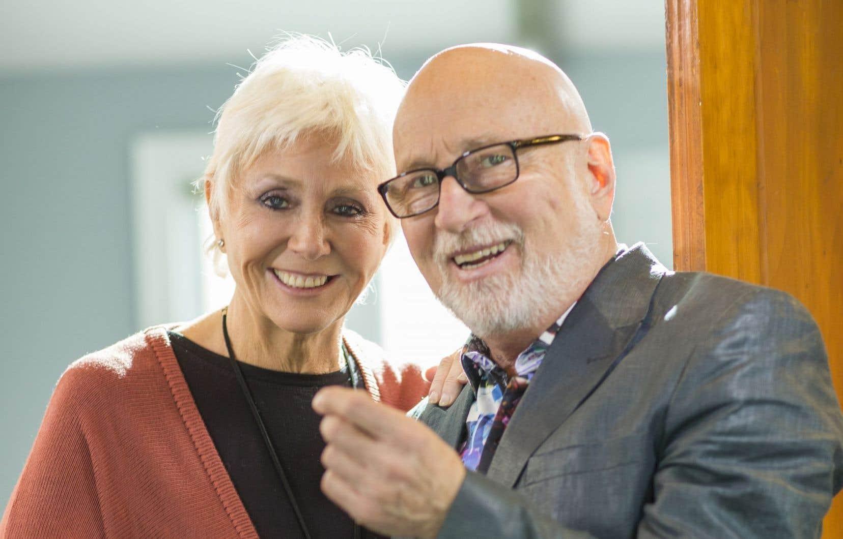 Renée Martel et Patrick Norman