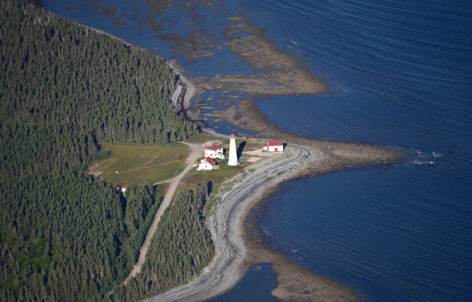 Le phare du cap de Rabast, à Anticosti